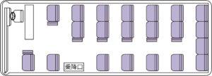 マイクロバス(正座席21+補助席7)